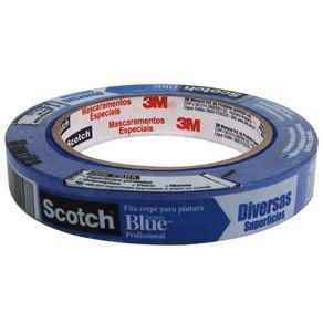 Fita Crepe 1,8mmx50m Prof. P/ Pintura Scotch Blue 3M