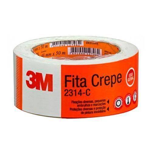 Fita Crepe 48mmx50m Ref.2314C Unidade - 3M