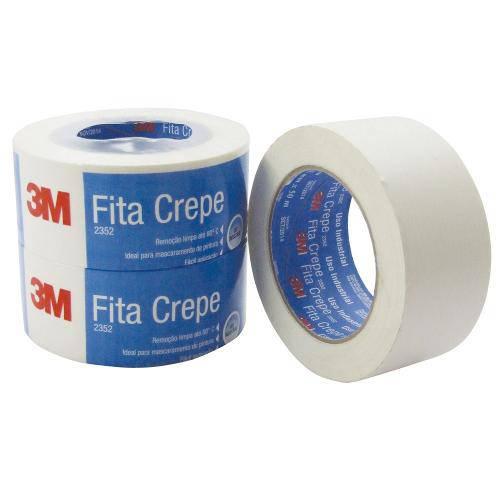Fita Crepe 2352 48x50 Scoth 3m
