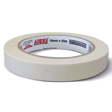 Fita Crepe Adere 18mm X 50m 18mm X 50m