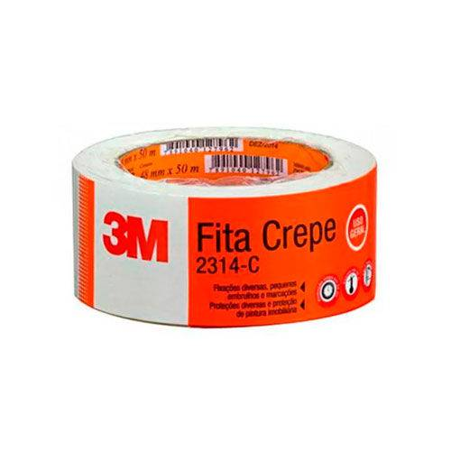 Fita Crepe Adesiva Tartan 3M 48x50mm