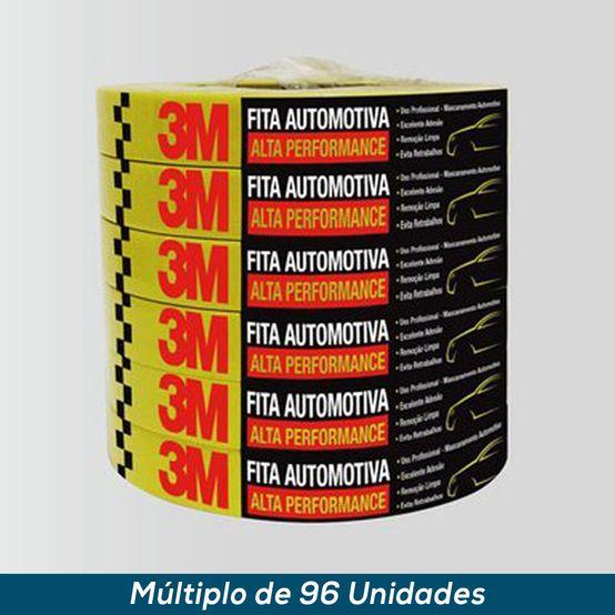 Fita Crepe Automotiva 3M Alta Performance 18mmx40mts
