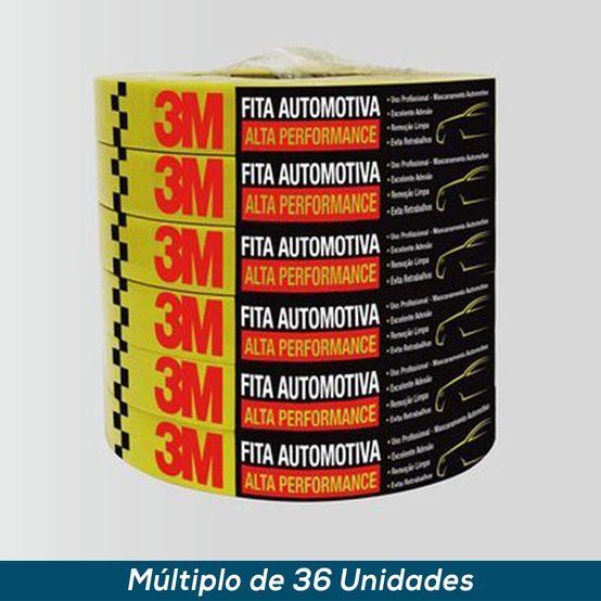 Fita Crepe Automotiva 3M Alta Performance 48mmx40mts