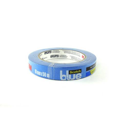 Fita Crepe Blue Tape 2090 3m 18 Mm X 50 M