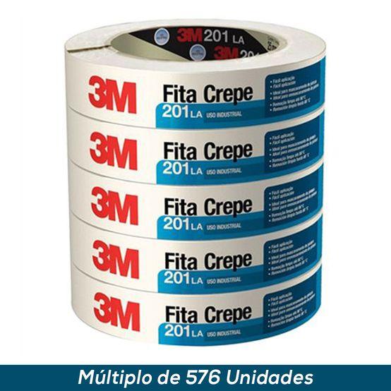 Fita Crepe 3M 201 LA 18mmx50mts