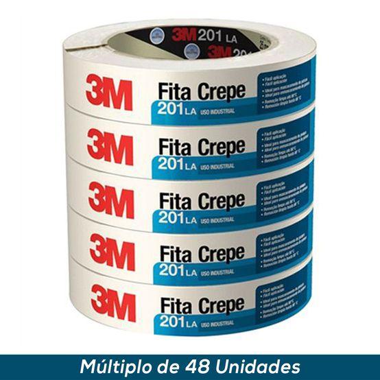 Fita Crepe 3M 201 LA 38mmx50mts