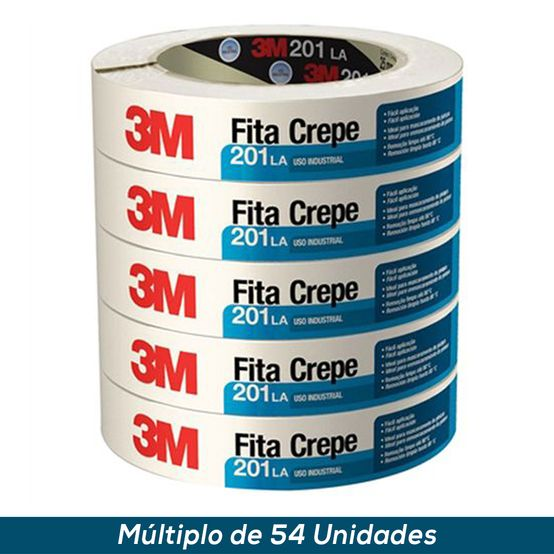 Fita Crepe 3M 201 LA 32mmx50mts