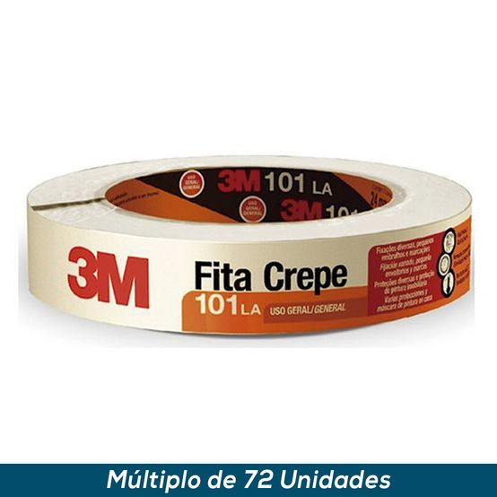 Fita Crepe 3M 101 LA 48mmx50mts