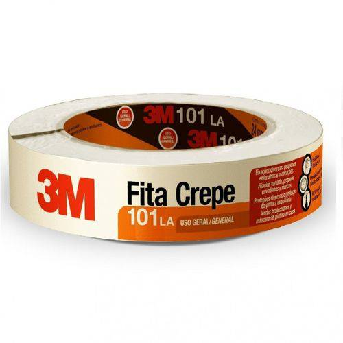 Fita Crepe 3m - 24 Mm X 50 M