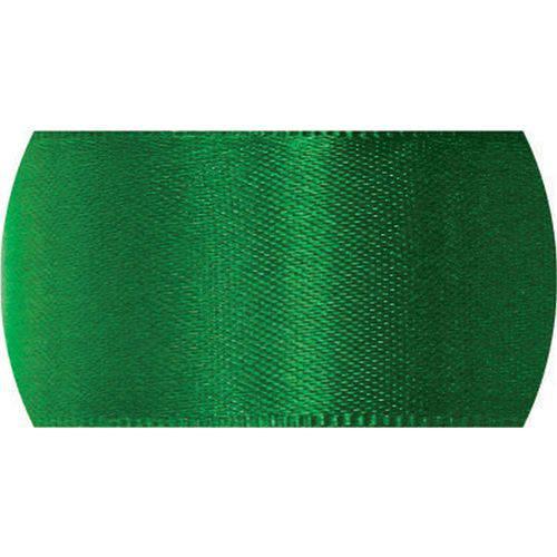 Fita de Cetim 07mm 100mts. Verde Bandeira