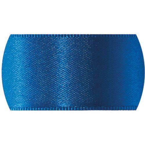 Fita de Cetim 10mm 50mts. Azul Royal 214