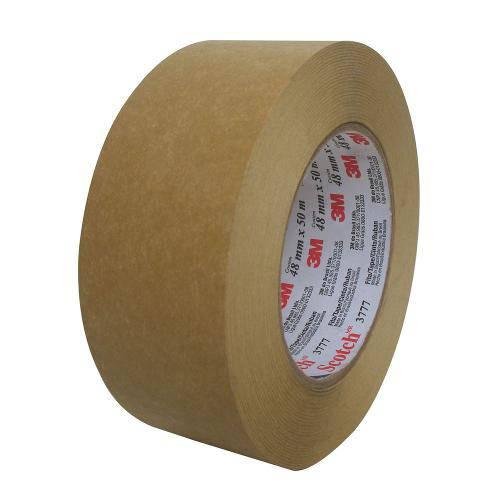 Fita de Empacotamento Scotch Papel Kraft 48x50m 3777 | 4 Rolos - 3m