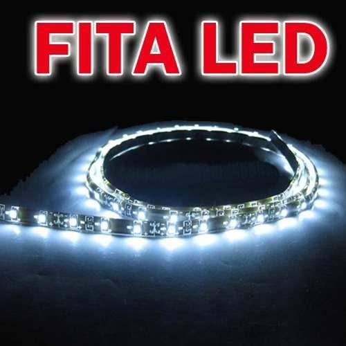 Fita de Led 30cm 18 Leds Silicone Proteção P/ Agua Ultra Luz Vermelho