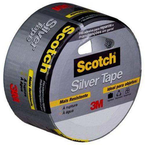 Fita de Reparos Silver Tape 5 Metros 217402 3m