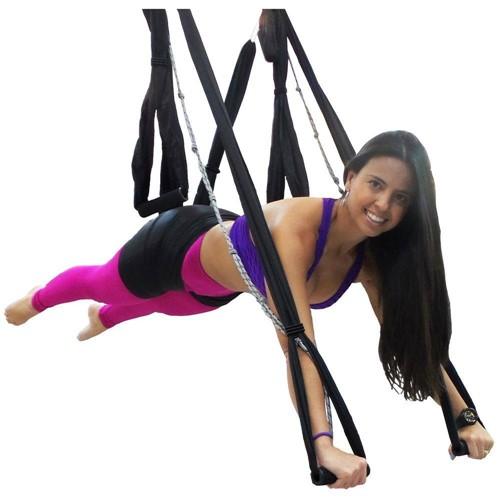 Fita de Suspensão Aero Pilates Yoga Swing - Proaction G216