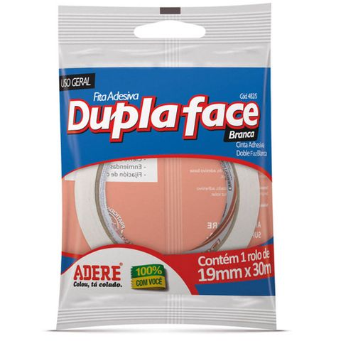 Fita Dupla Face 19mmx30m - Adere