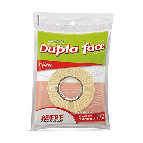 Fita Dupla Face 12mm 1,5m Ref.285s - Adere
