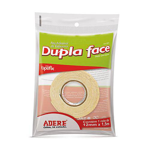 Fita Dupla Face 12mm Ref.285s 30m - Adere