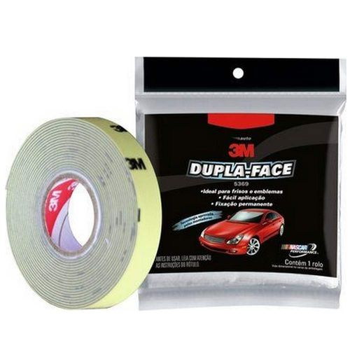 Fita Dupla Face 5369 12MMX3M 3M