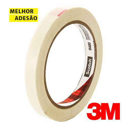 Fita Dupla-Face de Papel 12mm X 30m Scotch 3m 9400