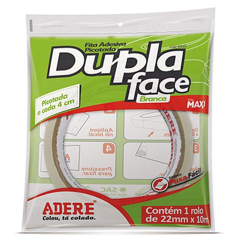 Fita Dupla Face 22mm 10m Ref.459 - Adere