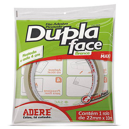 Fita Dupla Face 22mm Ref.459 10m - Adere