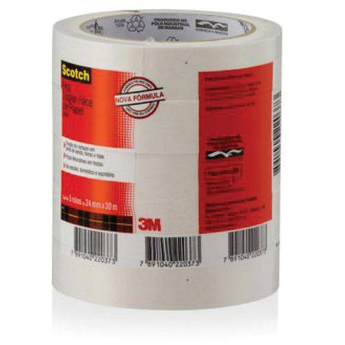 Fita Dupla Face Scotch Papel 9400 24Mmx30Mts. 3M Pct.C/05