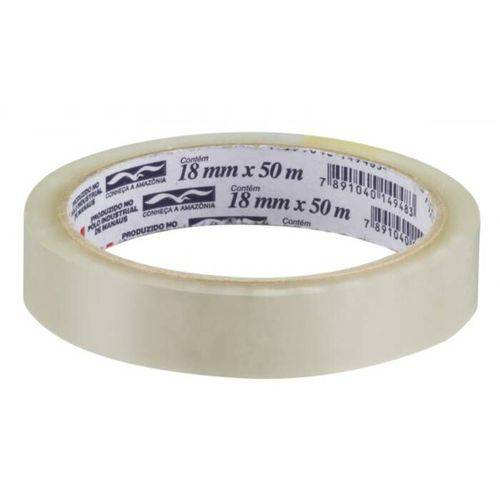 Fita Durex Transparente 18mm X 50m 3m 16017