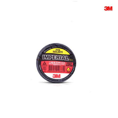 Fita Isolante 18mm X 05m Uso Geral Imperial Slim - 3m