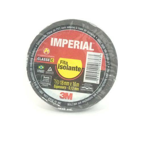 Fita Isolante 18mm X 10m Imperial 3m