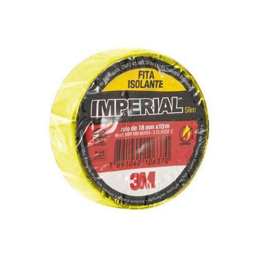 Fita Isolante 18mm X 10m Preta-imperial Slim
