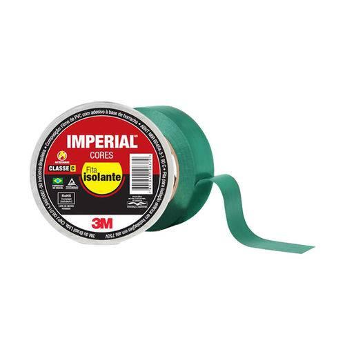 Fita Isolante Imperial 18mmx20m Verde 3m