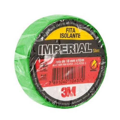 Fita Isolante Imperial Cores Verde 18mmx10m Pcote 10 Un