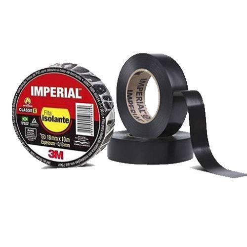 Fita Isolante Imperial 3m Preta
