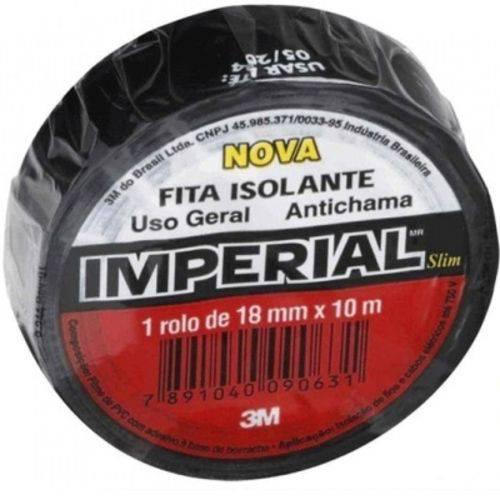 Fita Isolante Imperial Slim 18 Mm X 10 Metros - 3m