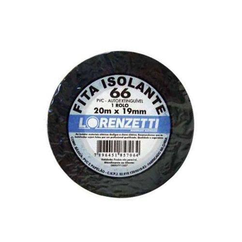 Fita Isolante Lorenzetti 20 Metros Alta Qualidade