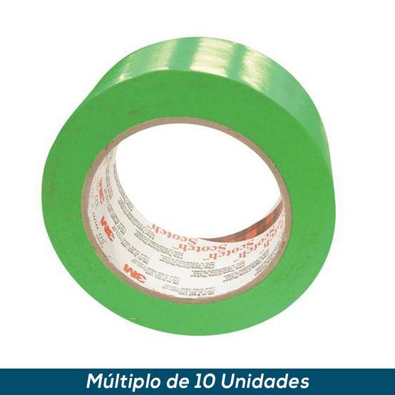 Fita 3M Verde para Demarcação 100mmx30mts