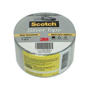 Fita Multi-Uso Silver Tape Cinza H2317842 3M