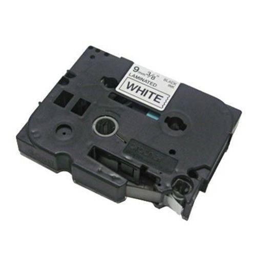 Fita para Rotulador Tz221, 9mmx8m, Preto/branco - Brother