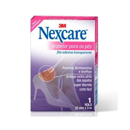 Fita Protetora para os Pés Nexcare® - 25 Mm X 3 M