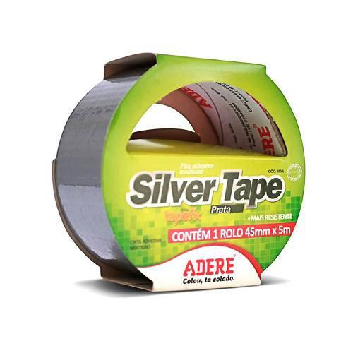 Fita Silver Tape 5mm com 45m - Adere