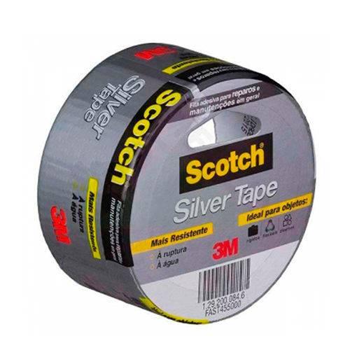 Fita Silver Tape 3939 45mmx5m - 3M