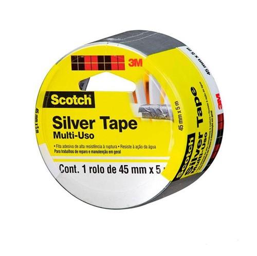 Fita Silver Tape Tartan - 45x5 - 3M