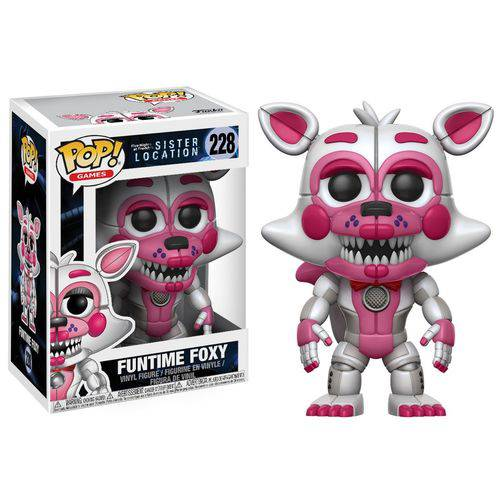 Five Nights At Freddy's Sister Location - Boneco Pop Funko Mangle (Funtime Foxy) 228