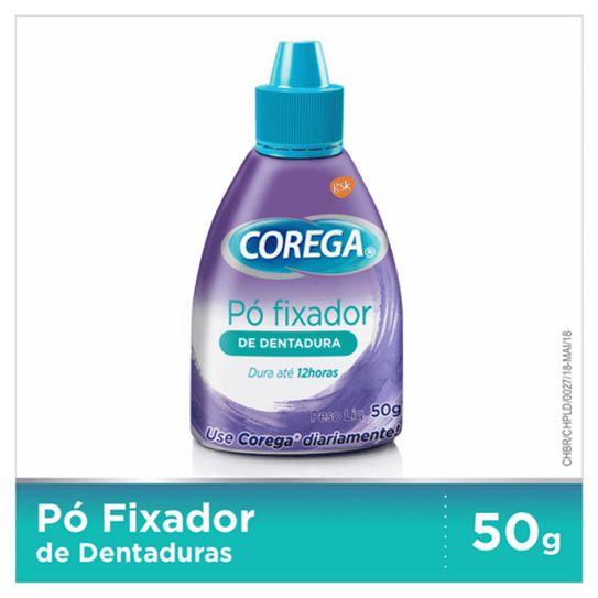 Fixador de Dentadura Corega Pó 50g.