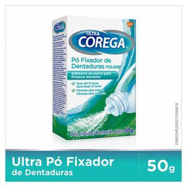 Fixador de Dentadura Ultra Corega Pó 50g