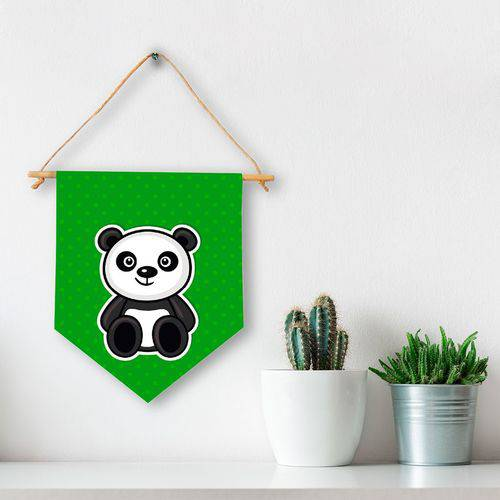 Flâmula Decorativa Panda Infantil
