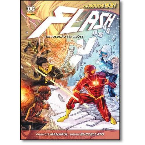 Flash: a Revolução dos Vilões - Série os Novos 52!