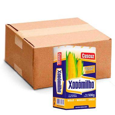 Flocos de Milho Pré-Cozido Xodomilho 500g Fd. C/ 30 Un. Flocos de Milho Pré-CozidoXodomilho 500g Fd. C/ 30 Un.