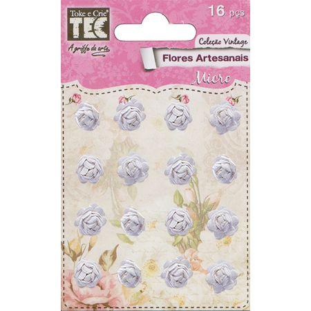 Flores Artesanais Micro Coleção Feito à Mão - Pureza